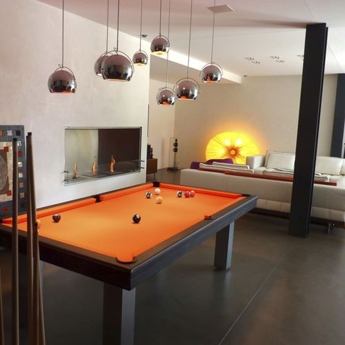 contemporary pool table convertible dining tables loft billards toulet baby foot debuchy by. Black Bedroom Furniture Sets. Home Design Ideas
