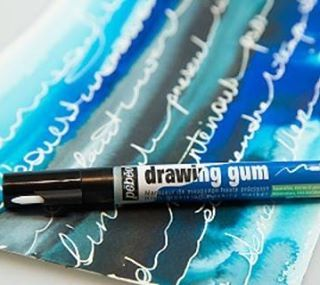 Drawing Gum Now In A Marker Discover How Easy Is To Preserve The