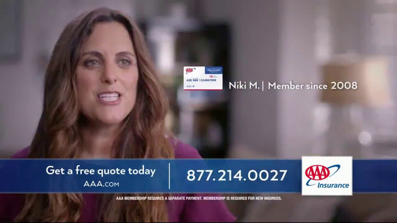 Aaa insurance family savings ad commercial on tv 2019