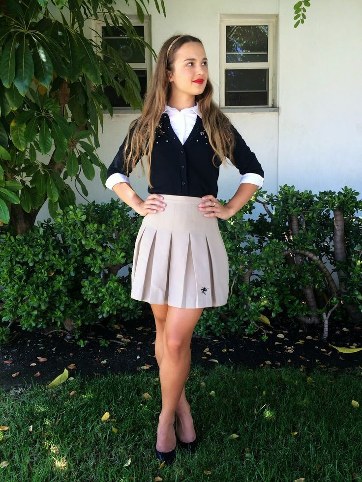 2788aca078f8 wear school uniforms 5 best outfits Game Themes, Skater Skirt, Preppy,  Preppy Fashion