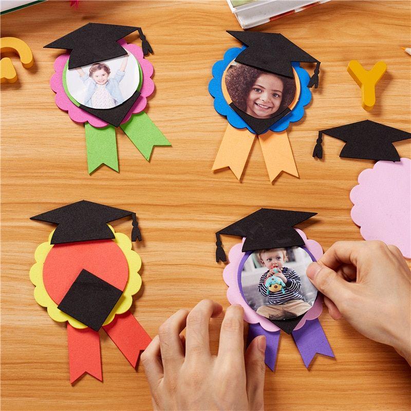 Arts Crafts Diy Toys Kindergarten Graduation Gifts Children S Handmade Diy Creative Graduation Diy Graduation Gifts Graduation Diy Preschool Graduation Gifts