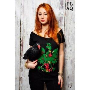 T-shirt Flower Green PL