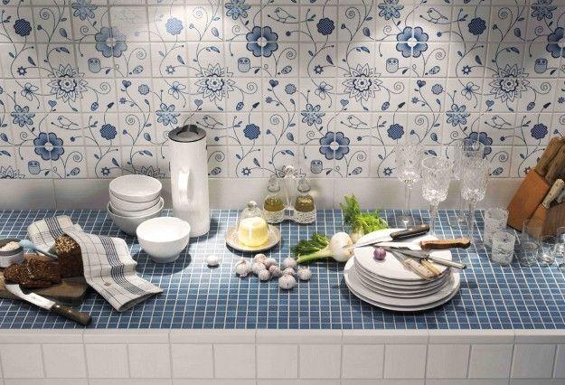 Piastrelle per cucina architektura i wnetrza cucine