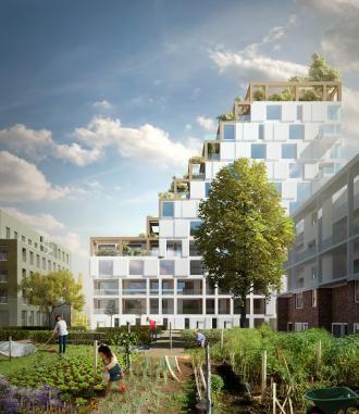 Sogent rangschikt voorstellen voor woonproject aan de Schipperskaai | sogent