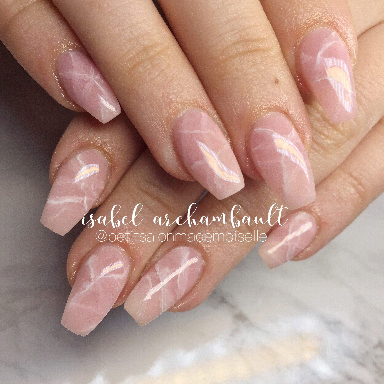Perfect Pink Quartz Nails Rose Quartz Nails Pink Nails Quartz Nail