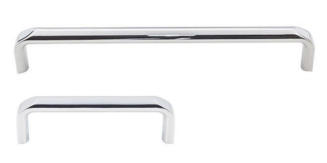 the polished chrome finish exeter series decorative cabinet