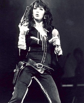 Kate Bush live in 1979 at the London Palladium  The same venue as