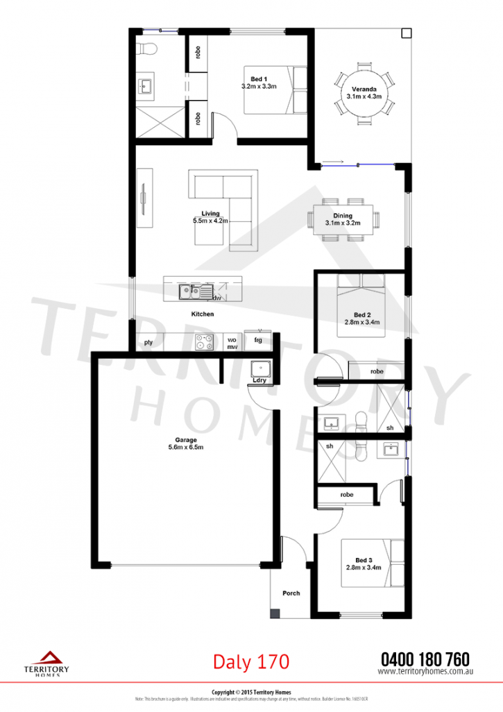 Daly 170 Territory Homes House Plans Floor Plans Home