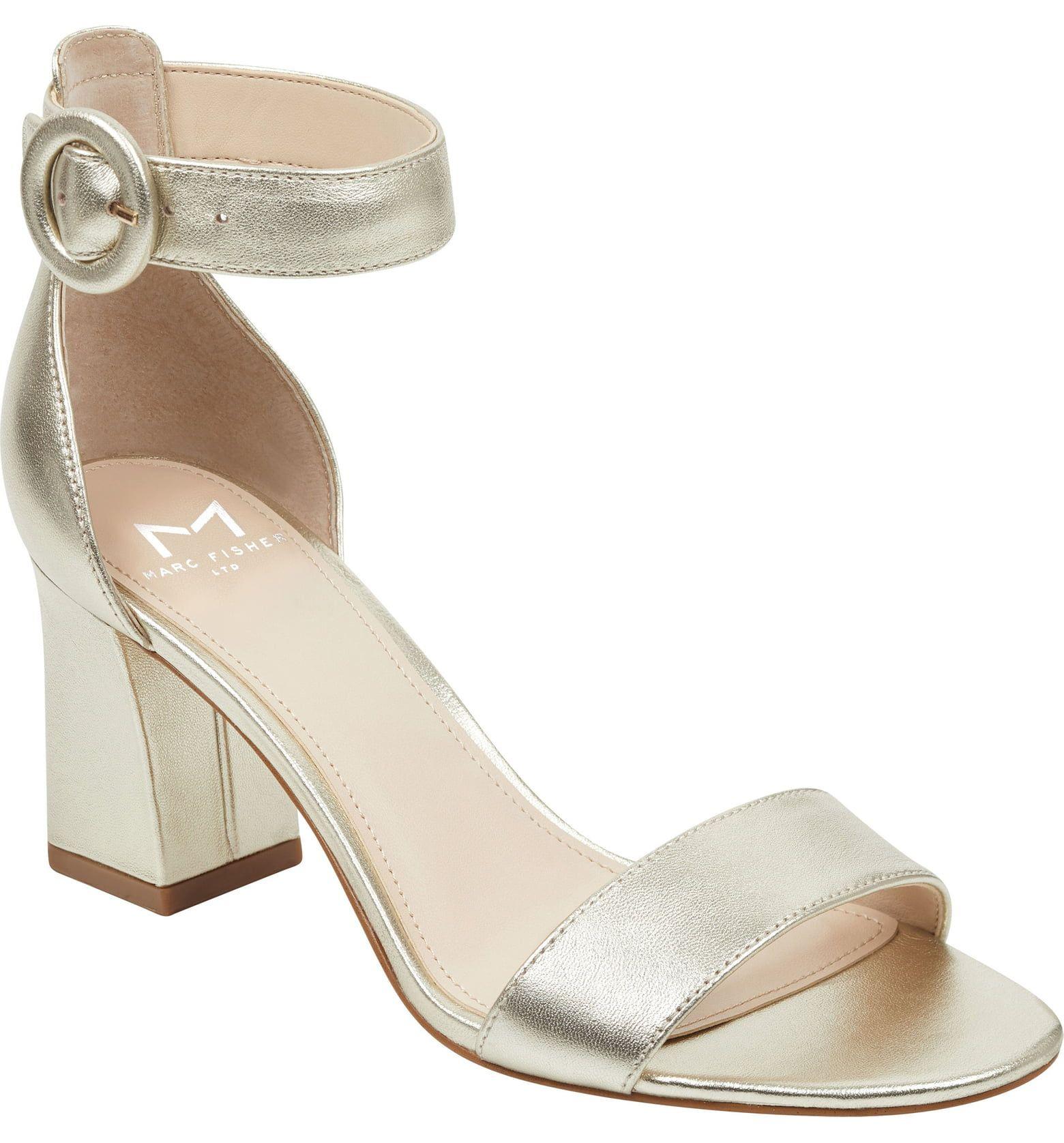 1ae6f9a32 Marc Fisher LTD Karlee Ankle Strap Sandal (Women)