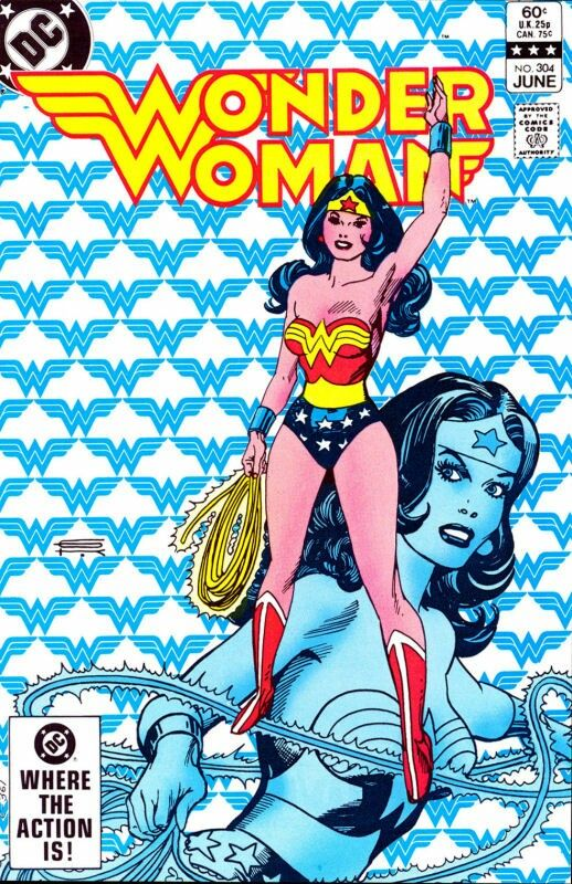 Wonder Woman #304 Gil Kane