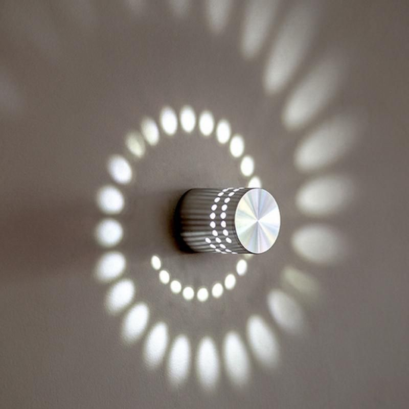 Spiral Effect Wall Lamp Original And Unique Led Wall Lamp Ideal Light Fixture For Corridors Balconies L Wall Lights Wall Lights Living Room Modern Wall Lamp
