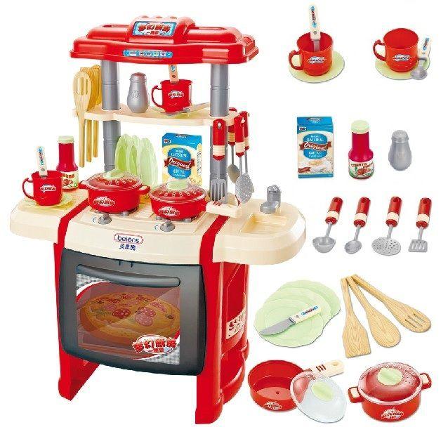 Aliexpress Com Buy Sallei Child Toy Musical Kitchen Toys Sooktops Dinnerware Set From Reliable Children Toy Blocks S Toy Kitchen Set Cooking Toys Toy Kitchen