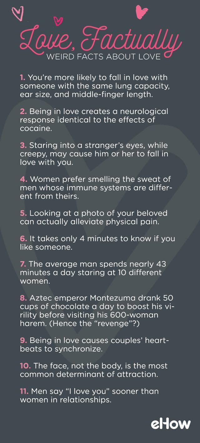 scientific facts about love