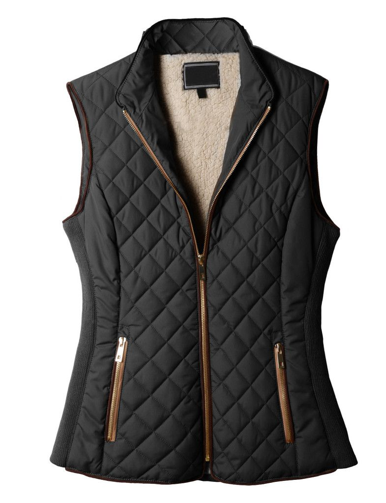 Quilted Puffer Vest (CLEARANCE)   Quilted puffer jacket, Clothes, Vest  jacket