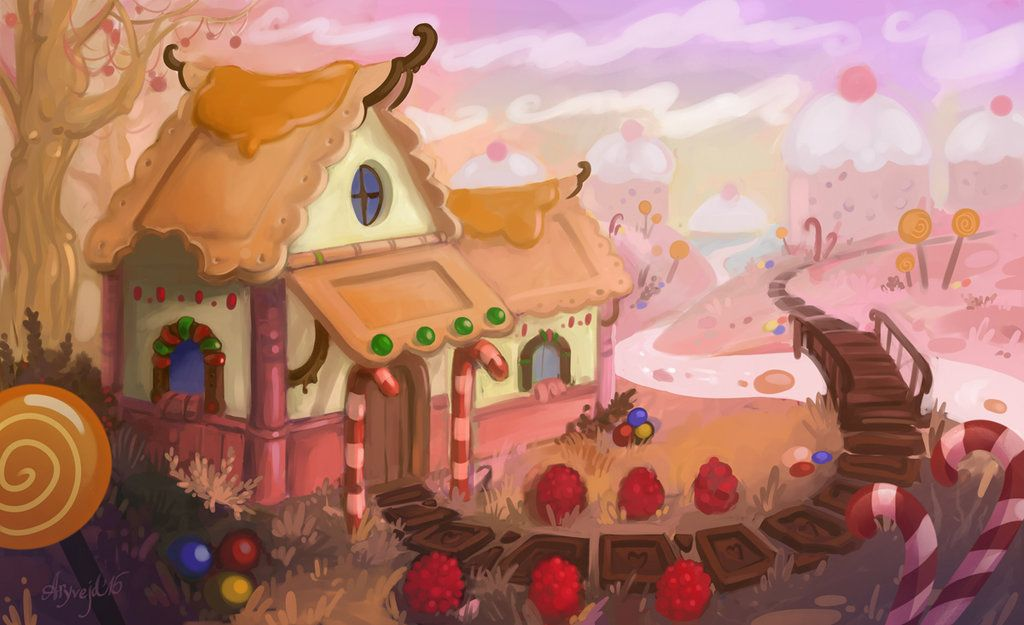 Candy House By Aryvejd Deviantart Com On Deviantart