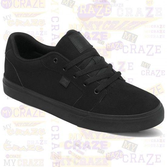 DC SHOES MENS ANVIL SKATE SKATER STREETWEAR BLACK SNEAKERS #DCShoes  #SkateboardShoes #Sneakers