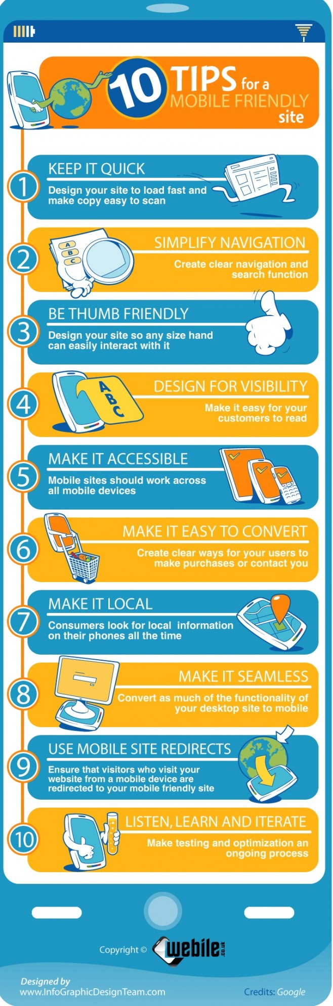 10 tips for a mobile friendly website | Mobile marketing ...