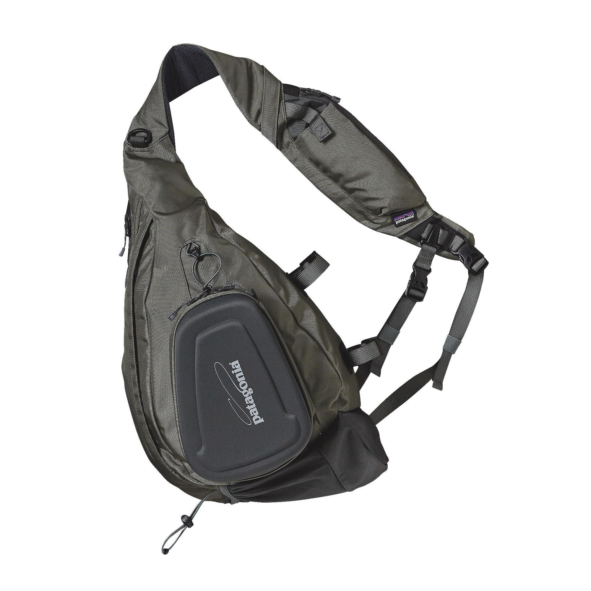 The Patagonia Stealth Atom Fly Fishing Sling bag is a versatile sling pack  that provides functional performance for anglers looking for a vest  alternative. 02da3aef1e