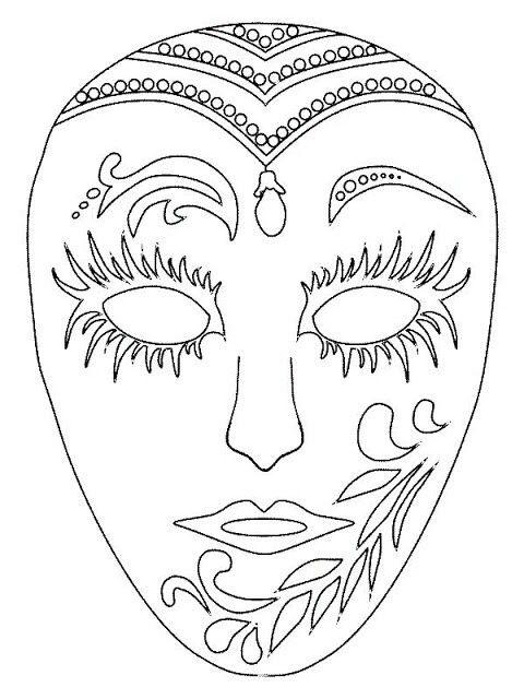 Mardi Gras Mask | It\'s Carnival Time | Pinterest | Schablone