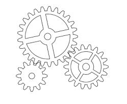 Clock Gears Drawing Google Search Gear Drawing Gear Template Maker Fun Factory