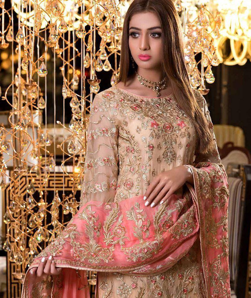 edc27bdbe2 Chiffon & Silk New Collection 2019 By Maryum N Maria | Wedding wear ...