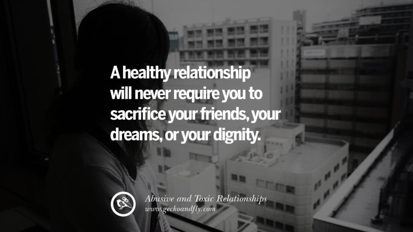 courage to leave a relationship