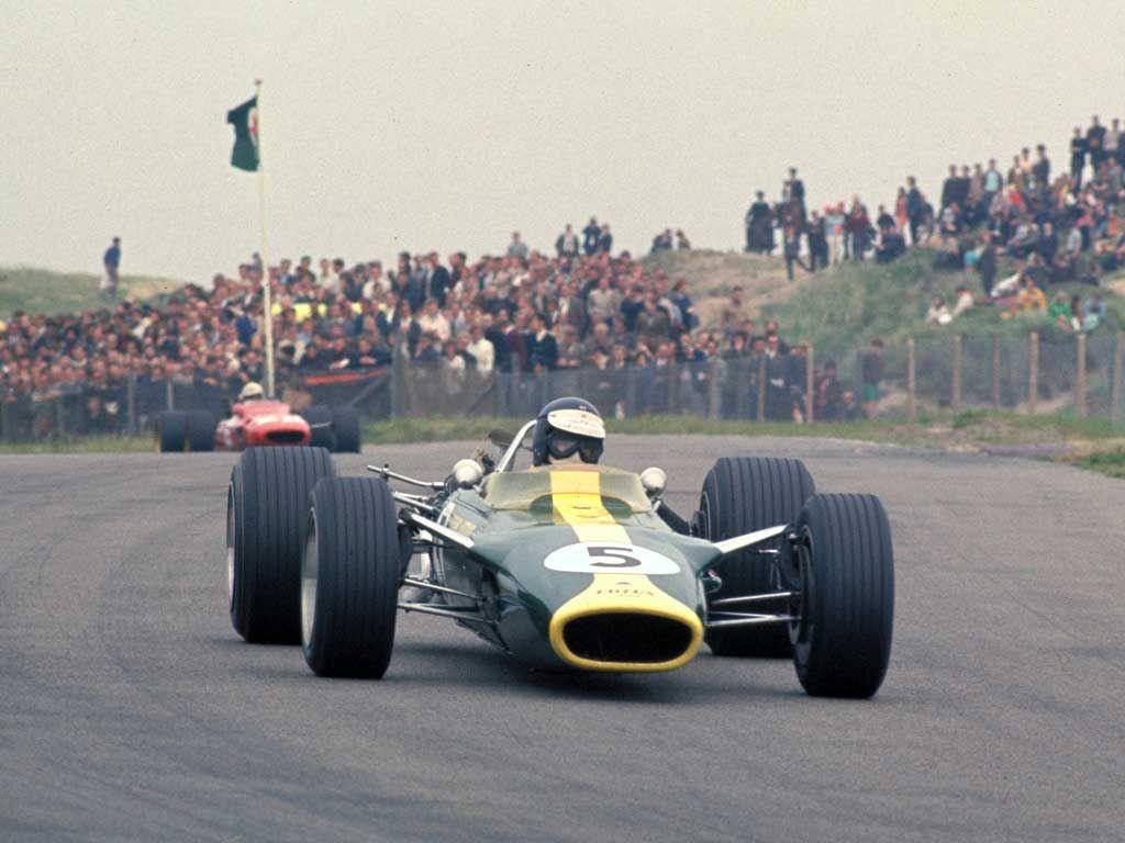 zandvoort f1 Jim Clark, LotusCosworth, Zandvoort, 1967