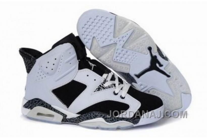 lowest price ad7b0 6b94a Wholesale Discount 2012 Air Jordan 6(VI) White Black Stria Basketball Shoes  Shop Nike