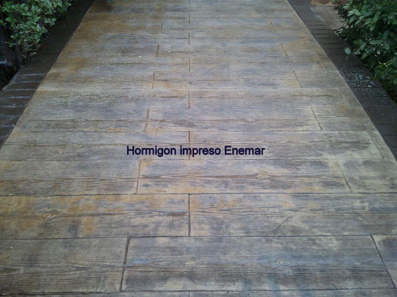 Hormigon impreso para interiores buscar con google suelos hormig n impreso pinterest patios - Hormigon decorativo para suelos ...