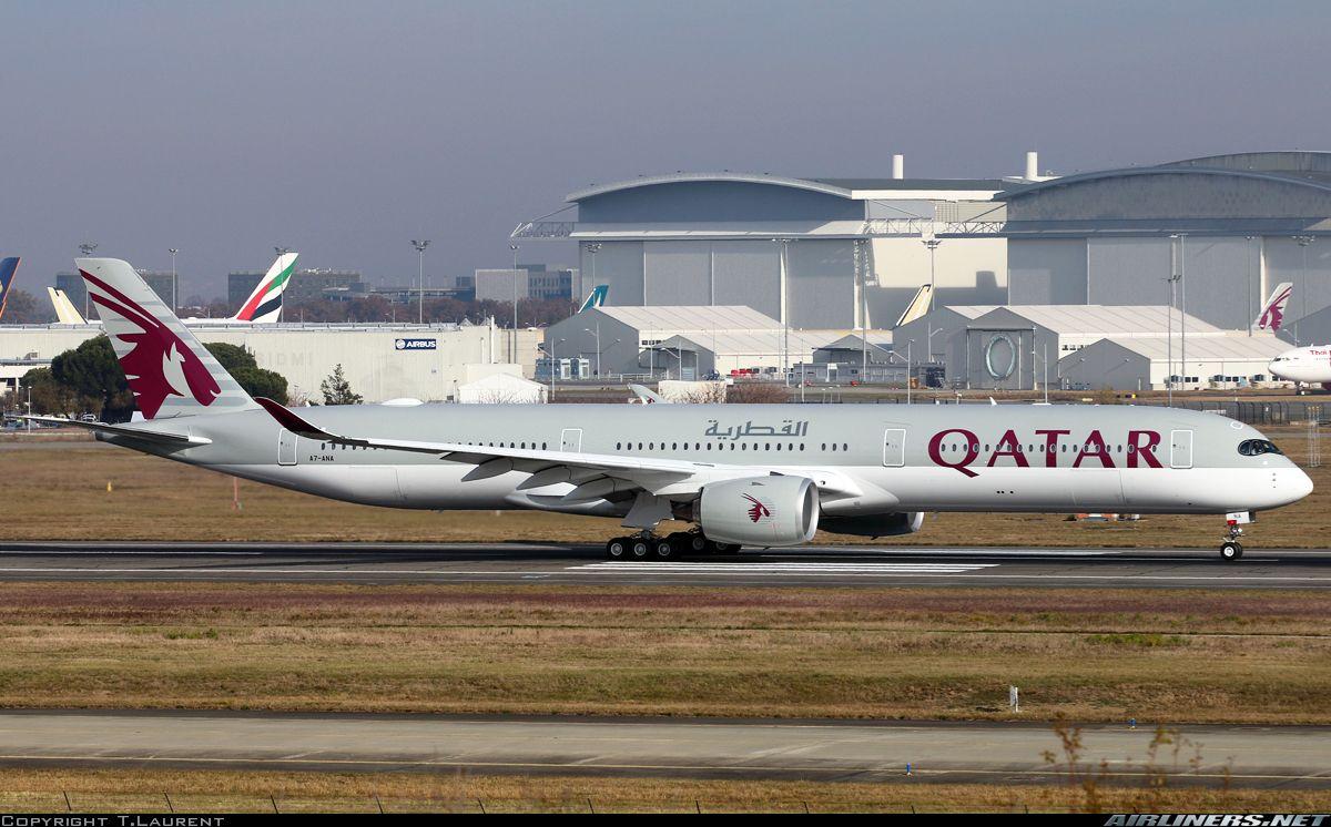 Airbus A350 1041 Qatar Airways Aviation Photo 4730197