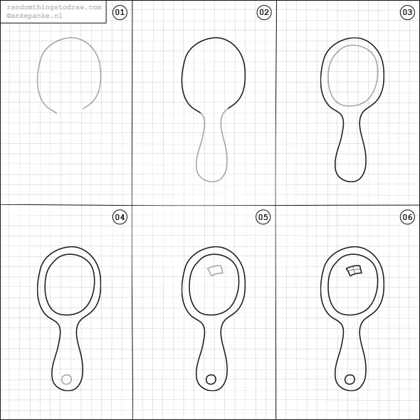 How to draw a mirror how to draw various pinterest for Learn to draw simple things