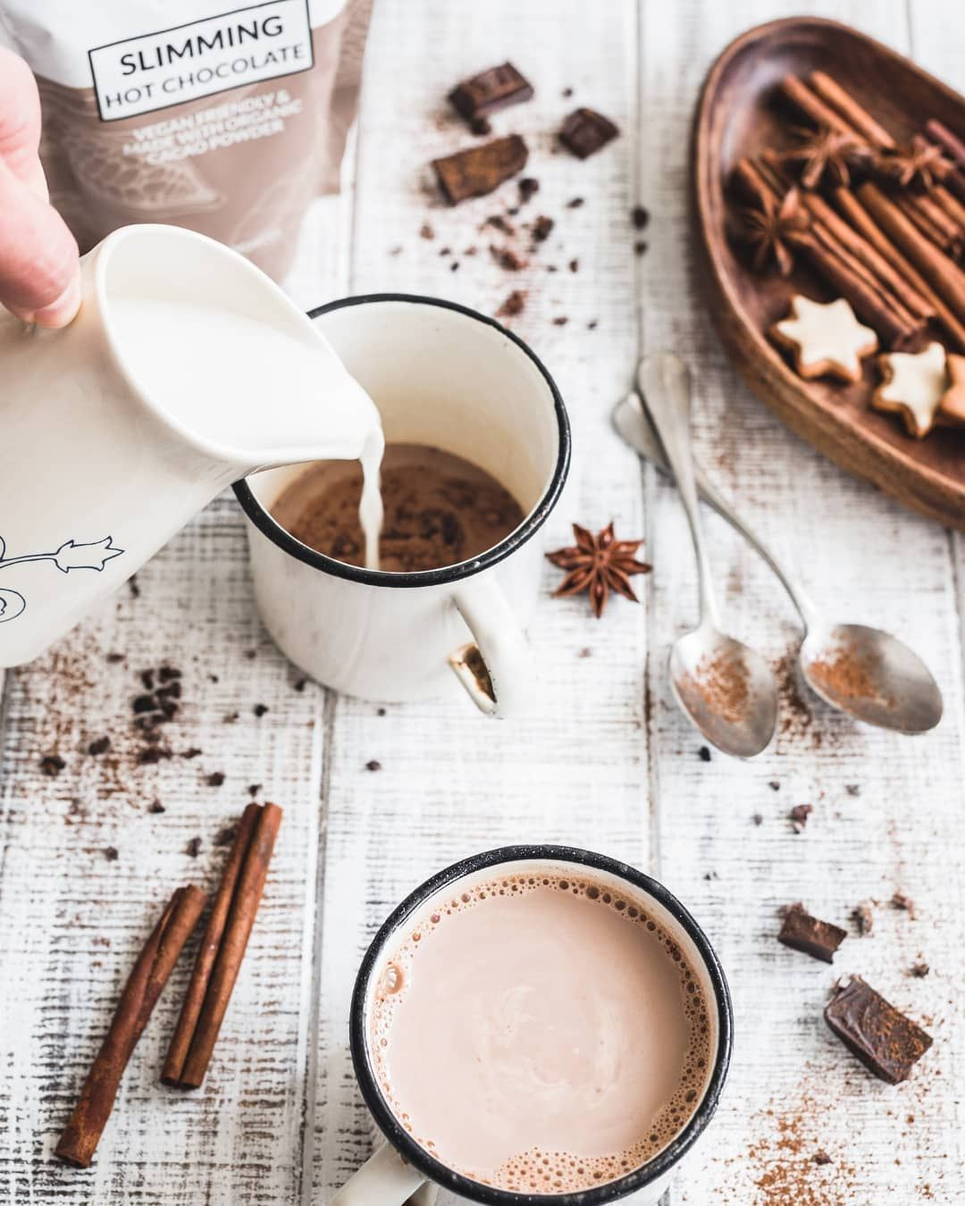 Slimming Hot Chocolate (With images) Hot chocolate, Food
