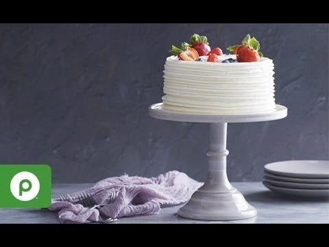 Chantilly Cake A Decadent Dessert from Publix Bakery YouTube