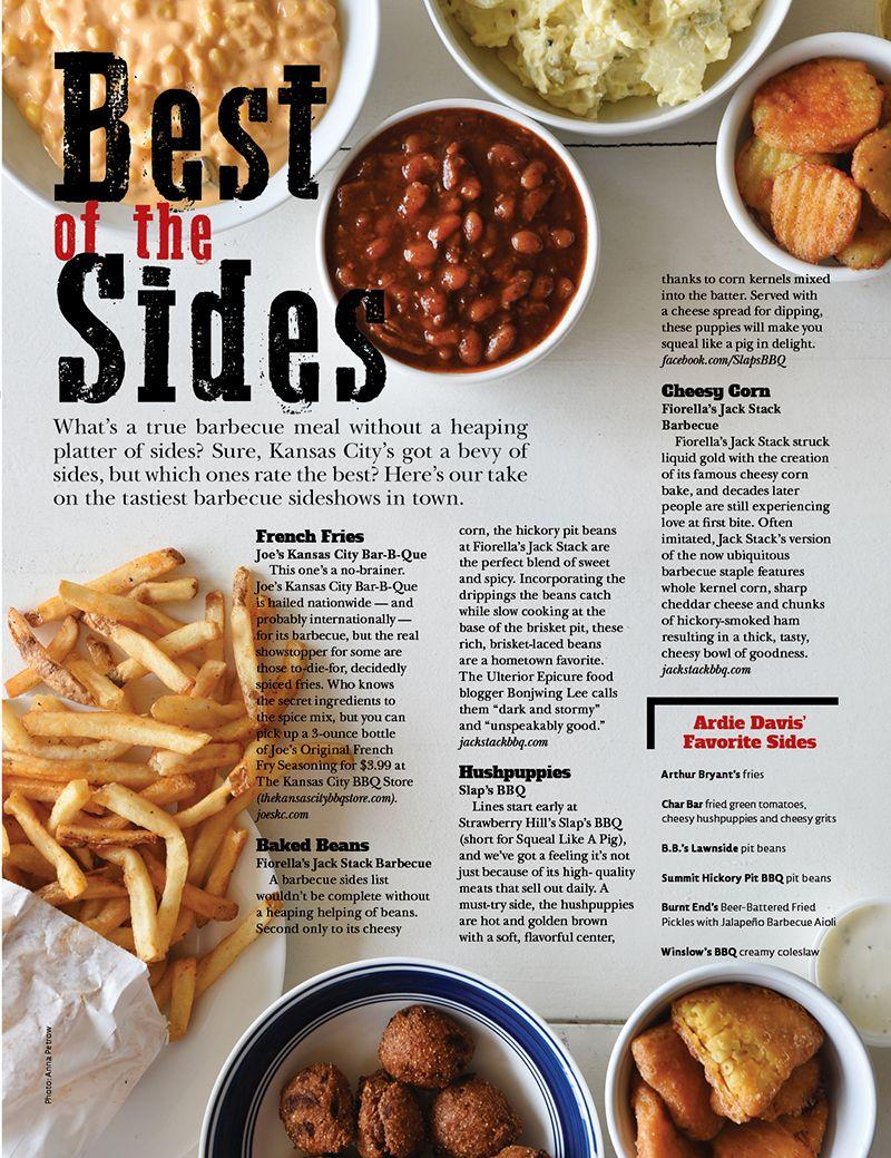Kc S Best Barbecue Super Bowl Menu Food Bbq Sides