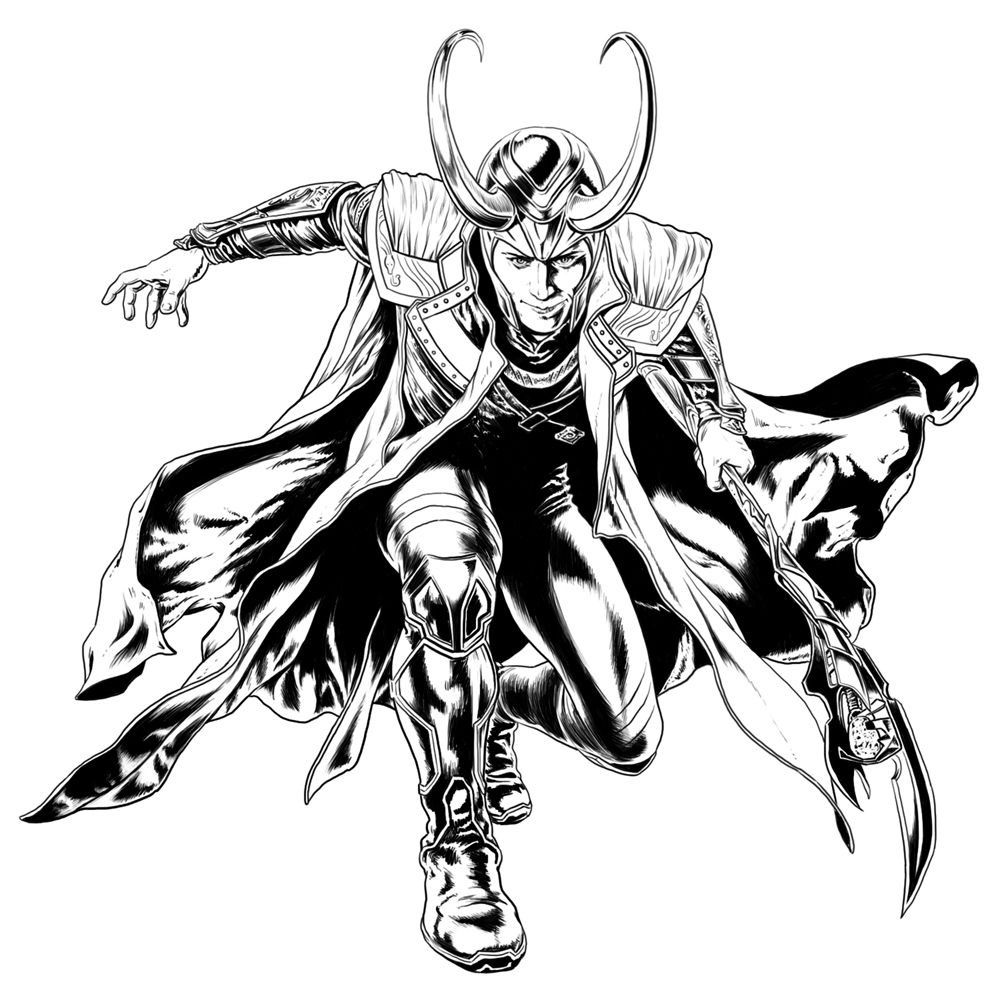 Avengers Coloring Pages - Best Coloring Pages For Kids  Avengers