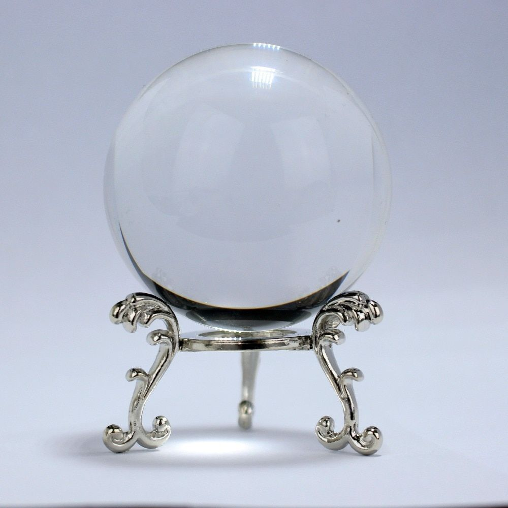 60 70 80mm Crystal Ball Photography Fengshui Magic Glass Ball Home Decor Glass Sphere Bola De Cristal Glass Ball Crystal Ball Glass