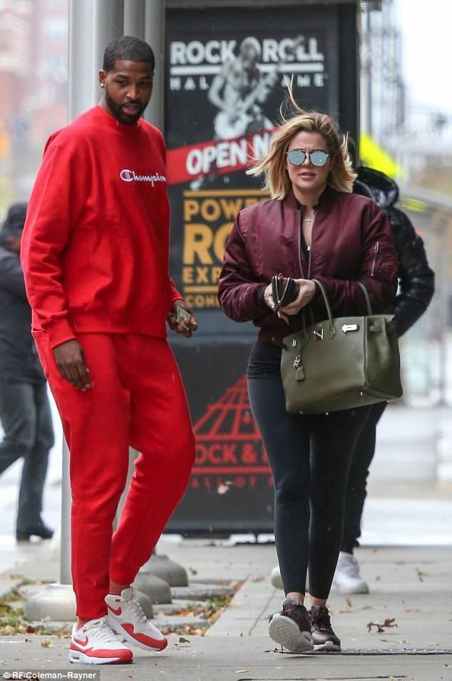 7959c0983c7 Khloe Kardashian wearing Hermes Birkin Bag and Kanye West Life of Pablo  Alpha Industries Bomber Jacket