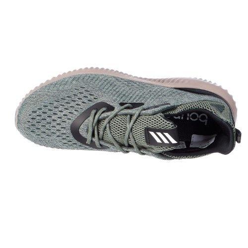 Adidas Performance Alphabounce Em M Running Shoe Utility Ivy