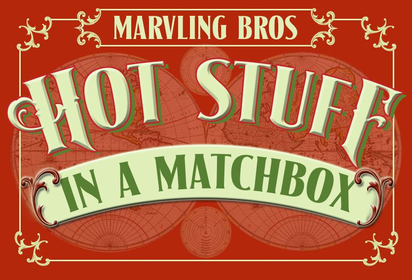 Hot Stuff In A Matchbox - Red hot chillies inspired this hot headed box