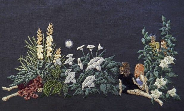 hand embroideries by michelle kingdom