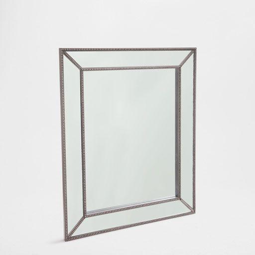 bild des produktes rechteckiger spiegel in silber spiegel mirror variations pinterest. Black Bedroom Furniture Sets. Home Design Ideas