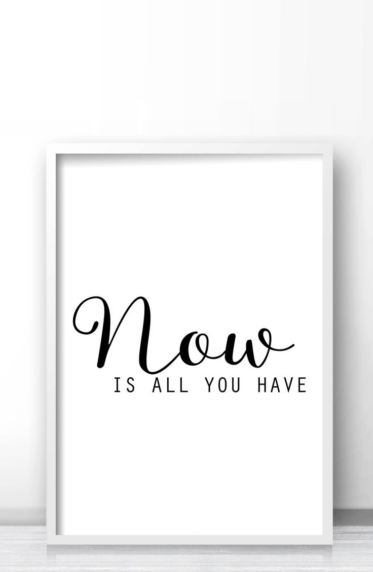 Black And White Art Print, Quote Wall Art, Digital ...
