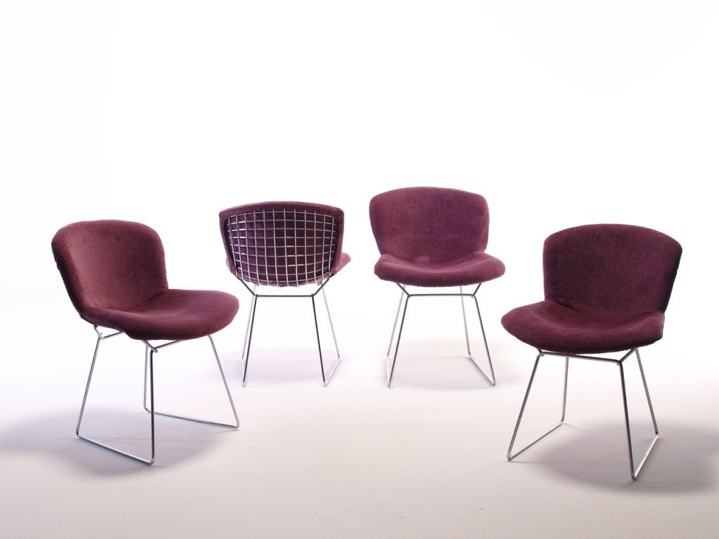 Wire Chairs Par Harry Bertoia U2013 Knoll 1952