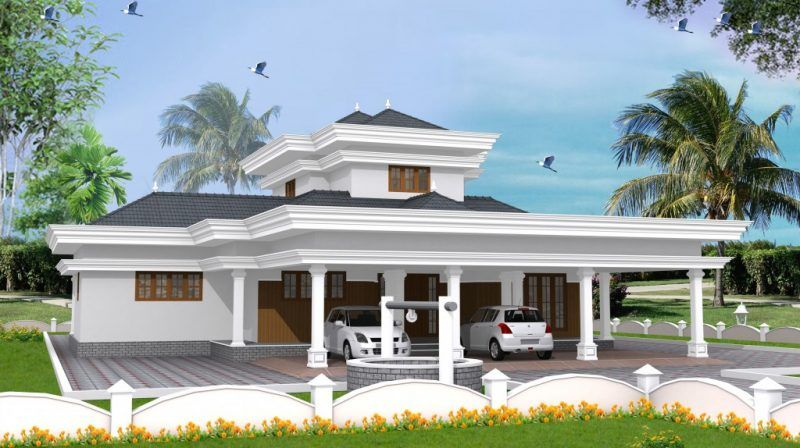This Semi Contemporary Model House Design Consists Of 4 Bedrooms 4 Bathrooms Kitchen Etc Affordable Model Homes Contemporary House Plans Contemporary House