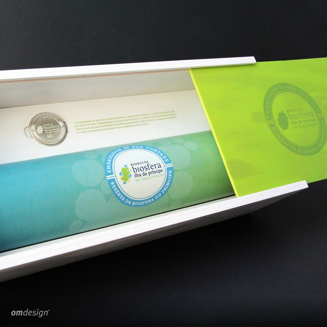 "Packaging ""Embaixadores de Boa Vontade"" (2016)  #Omdesign #Design #Portugal #LeçadaPalmeira #Since1998 #SustainablePackaging #SocialResponsability #AwardedAgency #PrincipeIsland #Principe #SaoTomeePrincipe #Biosfera #ReservaBiosfera #UNESCO"