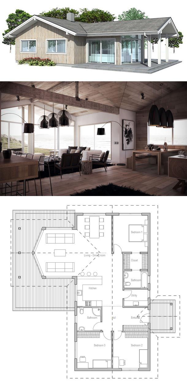 Plan de Maison Architecture Pinterest Plans de maison, Plans