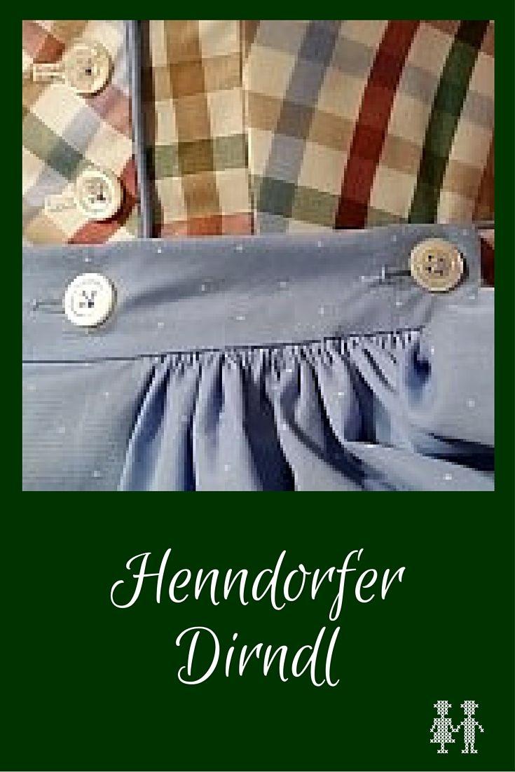 Das Henndorfer Dirndl ist charakteristisch durch die geknöpfte Schürze.