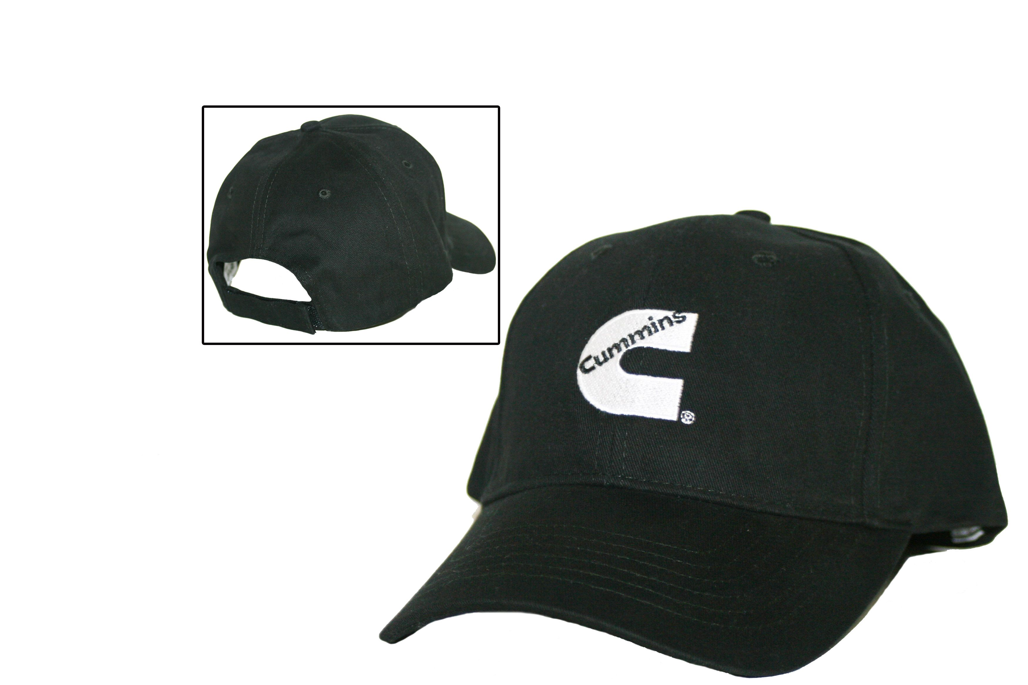 d47b35fabcb57 Cummins Diesel Basic Black Cap - Cummins Merchandise - Cummins Diesel  Merchandise