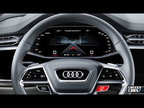 2018 Audi Q8 Concept Interior Automotive Hmi Design Car Uiaudi