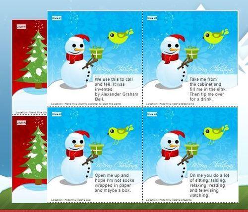Christmas Gift Scavenger Hunt Riddles: Christmas Scavenger Hunt